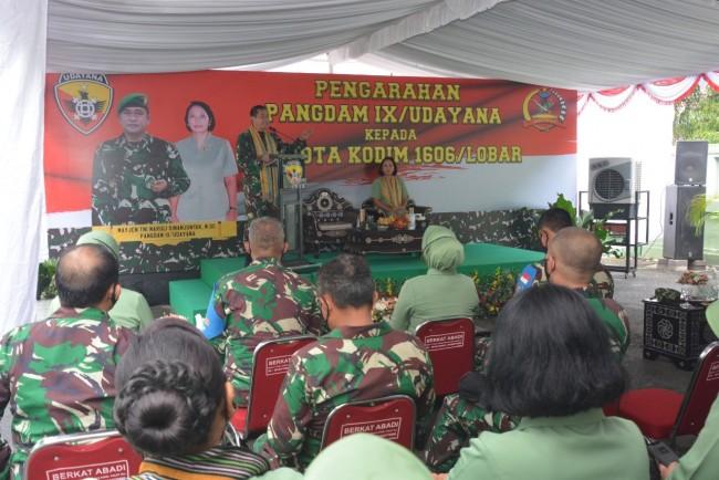 Kunjungan di Lombok, Pangdam IX/Udayana Lawatan ke Kodim 1606/Lobar