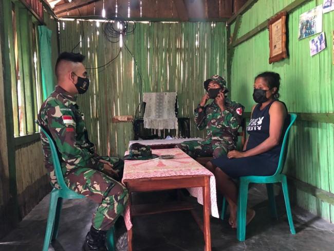 TNI Berikan Penyuluhan Cegah Penyebaran Covid-19 di Daerah Perbatasan RI-RDTL