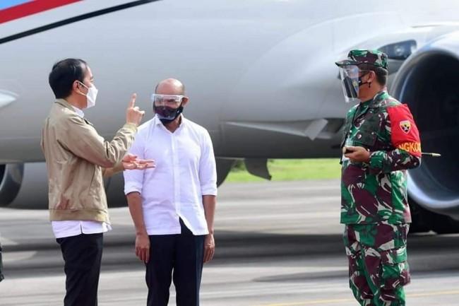 Pangdam IX/Udayana Pimpin Pengamanan VVIP Kunjungan Kerja Presiden RI di Provinsi NTT
