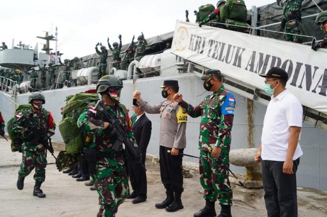 Yonif 742/SWY Berangkat Satgas, Gubernur NTB : Pegang Teguh SM dan SP serta Jaga Nama Baik TNI
