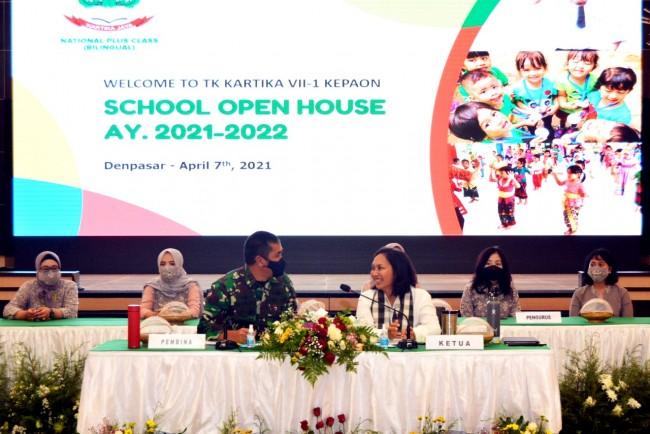 Tingkatkan Kualitas Pendidikan Khususnya KBT, Pangdam Hadiri Open House TK Kartika VII-1 Kepaon