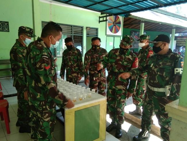 BNNP Bali Sosialisasi P4GN dan Gelar Tes Urine di Kodim Tabanan
