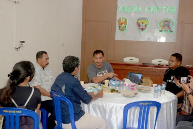 Jelaskan Pompa Hidram dan Ayam KUB, Pangdam Coffee Morning Bersama Insan Media