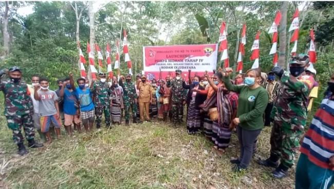 Launching Pompa Hidram Tahap IV, Dandim 1622/Alor Berharap Bisa Mengatasi Kesulitan