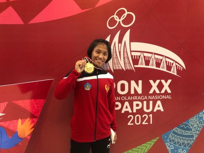 Anny Pandini Kowad Kodam IX/Udayana Raih Emas Judo, 4 Kali PON