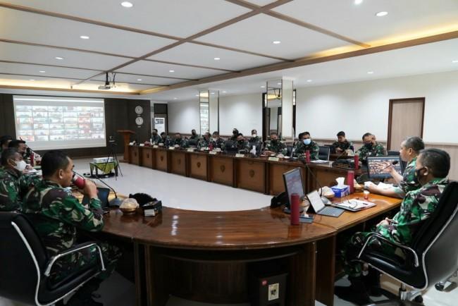 Jam Pimpinan, Ini Yang Disampaikan Pangdam kepada Satuan Jajaran Kodam IX/Udayana