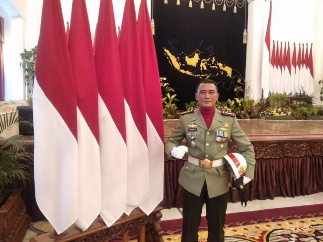 Mengenal Sosok Komandan Upacara HUT ke-76 TNI