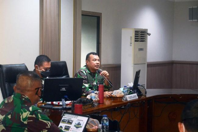 Kasdam IX/Udayana Terima Audensi Kepala Dinas Kelaikan Angkatan Darat