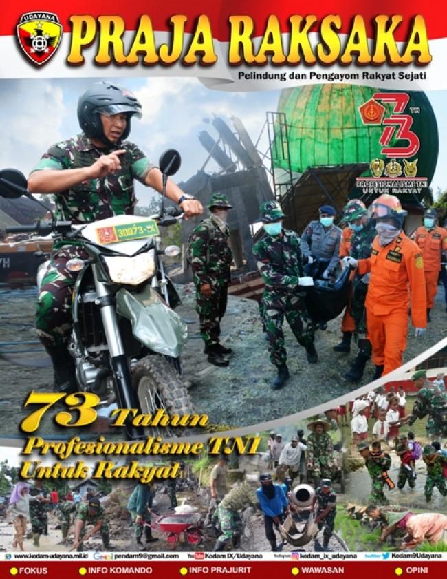 Majalah Praja Raksaka TW II Tahun 2018