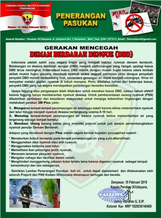 Gerakan Mencegah Demam Berdarah Dengue (DBD)