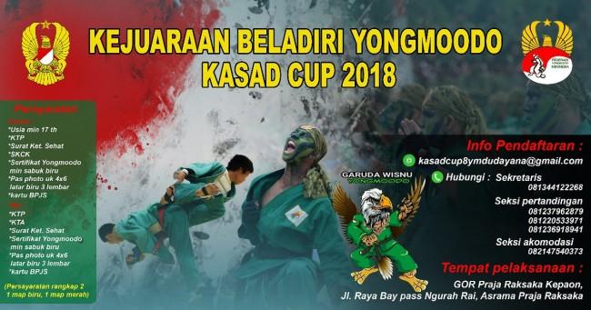 KEJUARAAN BELADIRI YONGMOODO KASAD CUP 2018
