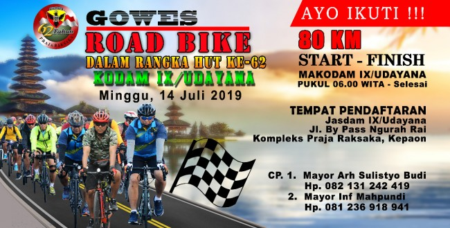"""GOWES ROAD BIKE 80 KM"""