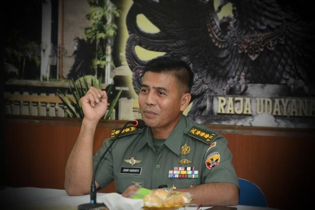 Kodam IX/Udayana Terima Pendaftaran Caba PK TNI AD TA. 2019