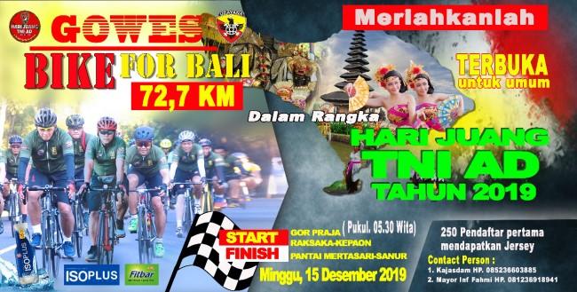 GOWES BIKE FOR BALI 72.7 KM