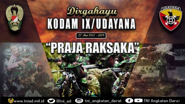 DIRGAHAYU KODAM IX/UDAYANA