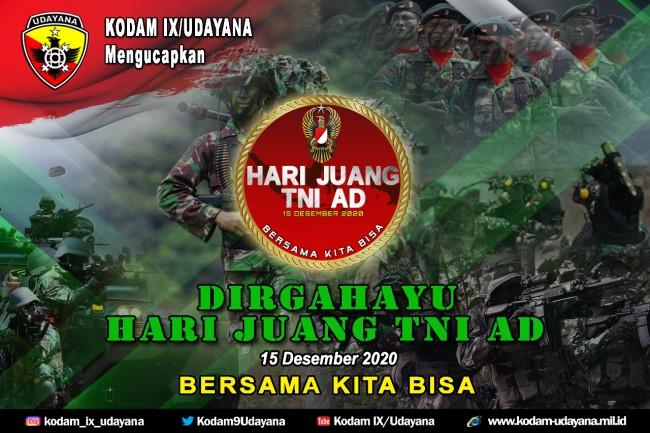 DIRGAHAYU HARI JUANG TNI AD